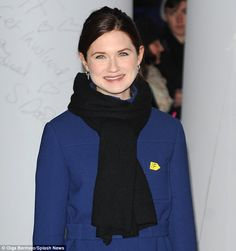 Daily Mail (45)    Dark turn: Bonnie Wright shows off her new brunette hair colour along with the other celebrities hoping to raise awareness of the tax avoidance, land grabs and lack of transparency over investments in poor countries.