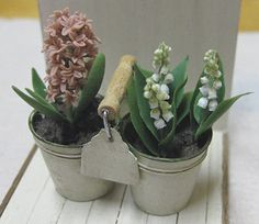 Another amazing Japanese miniaturist!!!Wow, these are beautiful, love the lily of the valley!