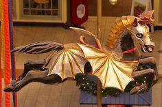 Dragon Horse – Fantasy Carousel, Willow Grove Park Mall, Philadelphia
