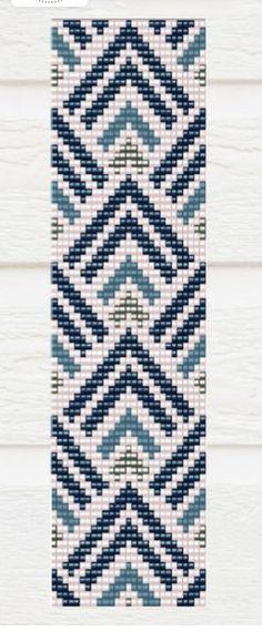 off loom beading techniques Loom Bracelet Patterns, Bead Loom Bracelets, Bead Loom Patterns, Peyote Patterns, Weaving Patterns, Bead Loom Designs, Motifs Perler, Beaded Crafts, Bead Crochet