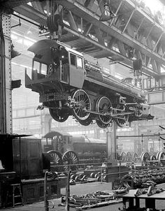 Swindon Works in 1951,  now our workshop!