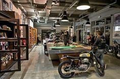Apre A Milano Deus Ex Machina | Deus Ex Machina | Custom Motorcycles, Surfboards, Clothing and Accessories