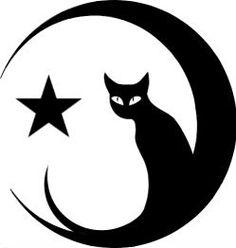 siluetas -de -gatos- para- tatuar