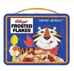 Kellogg's Vintage Frosted Flakes Tin Tote