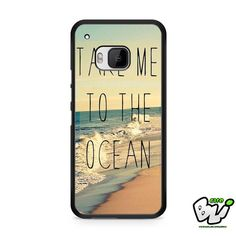 Take Me To The Ocean HTC One M9 Case
