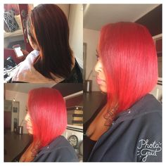 Ladie Dy's Color Service My Famous Fire Red  No Bleach Method. (Yes you can get the Red you want without Bleach) Book with me Ladies! #ladiedyhair #bayareahairstylist #colourpop #colorservices #coloredhair #redhead #firered #ladiedyhair