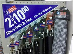 PowerWing Sells Belts & Ties – Fixtures Close Up Work Inspiration, Belt Tying, Belts, Promotion, Ties, Drug Store, Hooks, Families, Retail