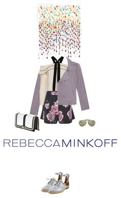 """""""Rmspring"""" by fanfan-zheng ❤ liked on Polyvore featuring Khristian Howell, Rebecca Minkoff, Proenza Schouler, Cameo, Ray-Ban, women's clothing, women, female, woman and misses"""