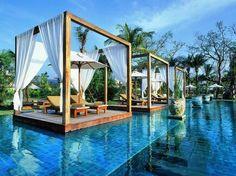 As piscinas mais bonitas do mundo: The Sarojin, Tailândia