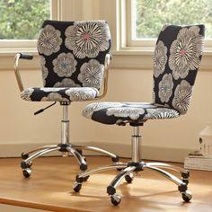 Sillas de oficina con estilo y color