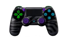 This is an awesome looking Dualshock 4. If I ever get a PS4 this would be my controller. =D