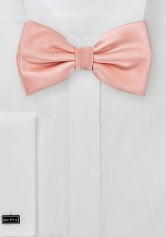 Herren-Schleife Kunstfaser rosa