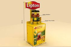 RETAIL STANDS LIPTON on Behance