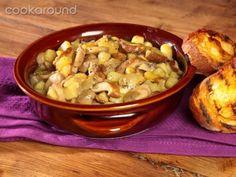 Zuppa porcini e patate .. buonissima!