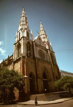 Iglesia de San Francisco, Padres Franciscanos, Bucaramanga, Colombia