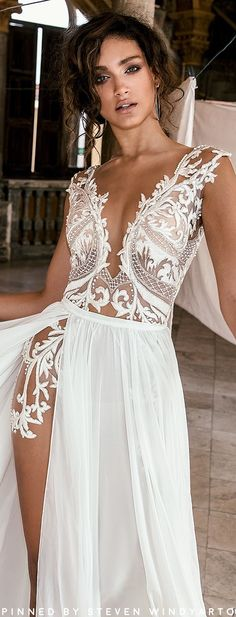 Julie Vino Fall 2018 Wedding Dresses Havana Bridal Collection #fall2018 #fw18 #julievino #weddingdress