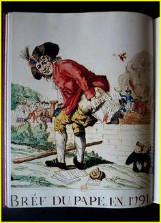 Caricature révolutionnaire et contre révolutionnaire