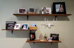 Cardboard Shelves. Can't beat $6