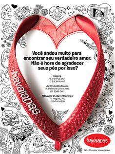 20 anúncios inspiradores para os Dias Dos Namorados