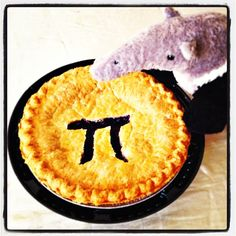 Celebrating Pi Day, Anteater style! 3.14 slices, please.  #UCIrvine #UCI #Pi #pie #PiDay