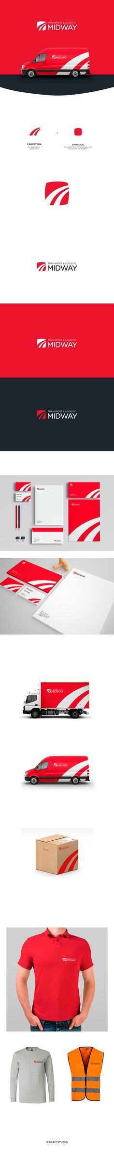 MIDWAY LOGISTIC on Behance