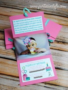 DIY invitations-I love this Ides for Xavier's future birthday parties!