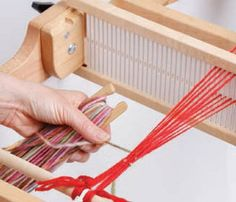 Master the rigid-heddle loom in this free advice page on weaving looms for beginners.