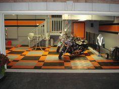 Indy Monster Garage, LLC - RaceDeck Licensed Harley Flooring
