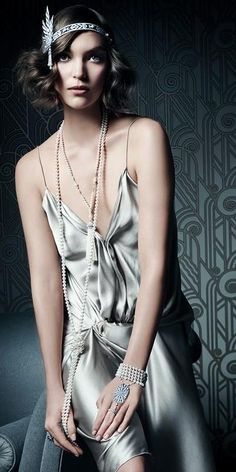 Tiffany Co. The Great Gatsby Collection Spring 2013 (Arizona Muse).