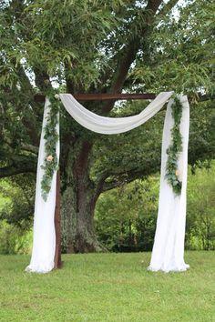 Beautiful handmade arbors for wedding