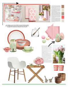 """""""23.02.2016"""" by desdeportugal ❤ liked on Polyvore featuring interior, interiors, interior design, home, home decor, interior decorating, Kate Spade, Russel Wright, Oscar de la Renta and Cost Plus World Market"""