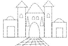 גנים-תיכון » גיל הרך » פורים » חיבור קווים ארמון המלך - חיבור קווים Floor Plans, Outdoor Structures, Inspirational, Learning, Craft, Studying, Teaching, House Floor Plans, Inspiration
