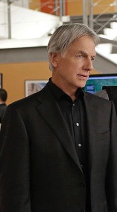 How can this guy be so handsome the older he gets?  Mark Harmon as Gibbs on NCIS. (Photo: Sonja Flemming, CBS)