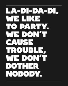 Slick Rick, Snoop, La-Di-Da-Di, Doug E. Fresh, MC Ricky D. Pop culture. 1980s. Rap. Hip hop. History    Background: http://en.wikipedia.org/wiki/La_Di_Da_Di