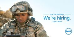 Are you a Veteran interested in joining Dell? We honor our men and women who serve in the military and we're committed to helping them join our workforce: http://jobs.dell.com/veterans