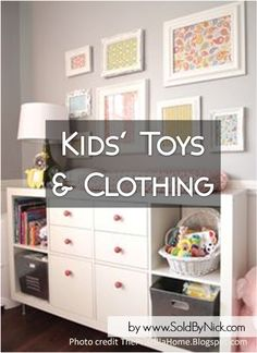 Decluttering, Minimalizing, Organizing Children's Toys and Clothing - Packing / Moving Tips