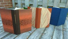 overview of PBI class - Three Case Styles for Three Bookbindings taught by Priscilla Spitler - by Rhonda Miller