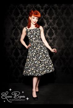 I adore this dress; Pinup Girl Clothing $144
