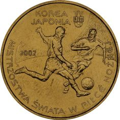 Rare Polish coin, 2 zlotych, The 17th FIFA World Cup: 2002 FIFA World Cup Korea/Japan, 2002, UNC, collectible, for football fans by CNAVCollectibles on Etsy