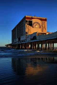 Flagship Hotel after Hurricane Ike in 2009. Has since been demolished. Galveston, TX.