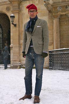 Michael Hainey style, Paris!  Ivy Style!