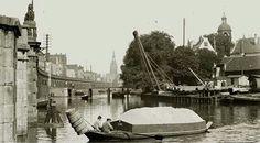 Amsterdam, Onder de Bogen Bij Westerdok - 1899
