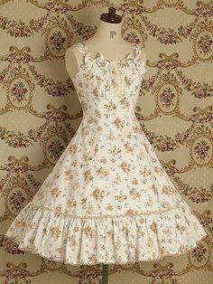 floral lolita dress via mary magdalene