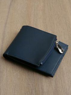 Maison Martin Margiela 11 Men's Blue Leather Wallet