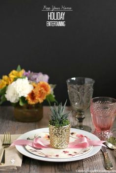 Follow these 6 steps to prep your home for holiday entertaining, plus an entertaining tip for each one, here.  #DiamondCrystalSalt