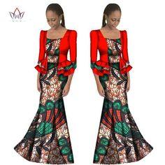 Already Made Ankara - 2017  African Women Traditional Dress With Coat