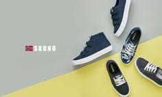 Scandinavian fashion sneakers(shoes) brand skono navy color canvas shoes for men and woman. World licensee : SKONOKOREA Contact for sales(online, offline) : help@skonokorea.com