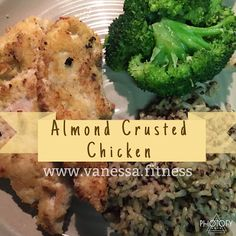 Hammer and Chisel/21 Day Fix recipe, with container equivalents. Paleo, gluten free, dairy free, delicious!! The most tender crispy chicken, that's healthy and delicious!!