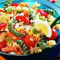 Pasta Salad With Herb Vinaigrette | Oldways by jill