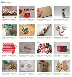 my ceramic ornaments were featured in this lovely Etsy treasury.. 08.11.2013.